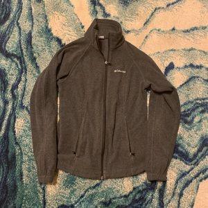 Columbia Jackets & Coats - Men's XS Columbia Charcoal Fleece Jacket